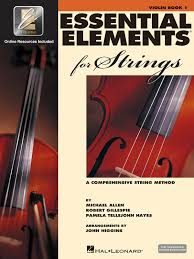 Rental Accessories, ESSENTIAL ELEMENTS - VIOLIN
