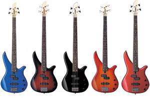 Yamaha RBX170 Bass Guitar The RBX270 And Both Feature Distinct RBX Styled Bodies Bolt On Maple Necks