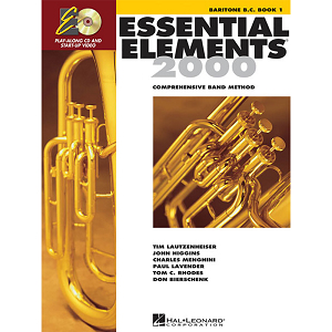 Hal Leonard, ESSENTIAL ELEMENTS BOOK - EUPHONIUM