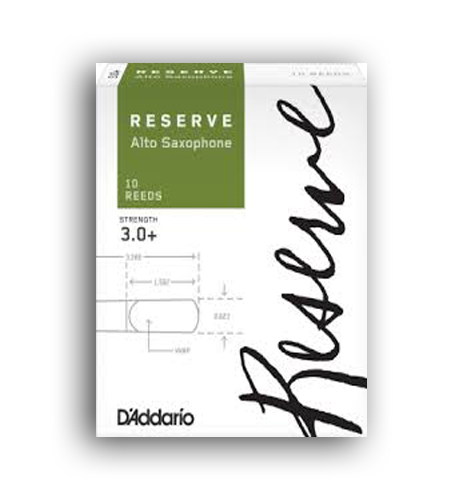 Rental Accessories, RESERVE CLASSIC 2.5 REEDS