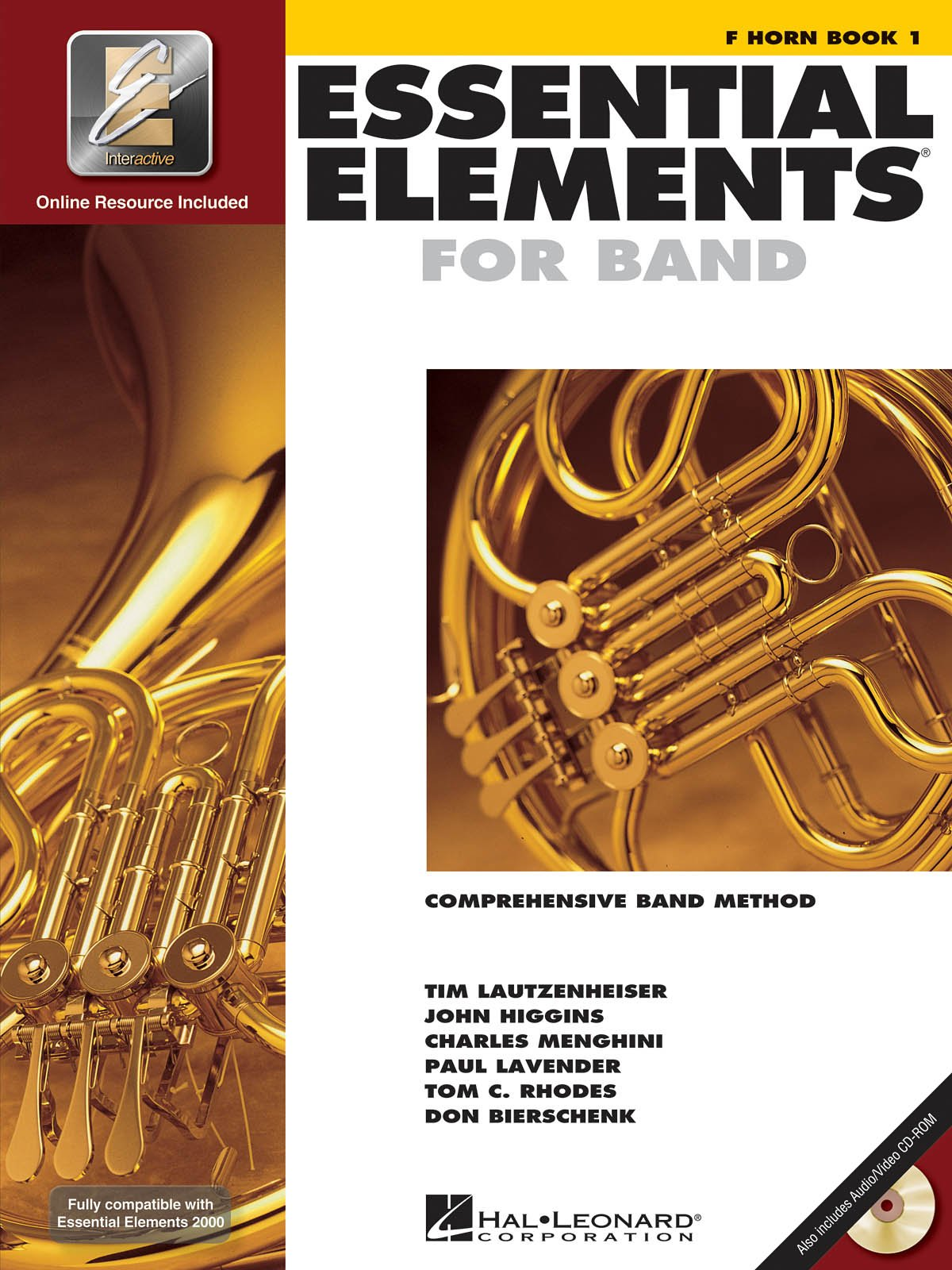 Hal Leonard, ESSENTIAL ELEMENTS BOOK - FRENCH HORN